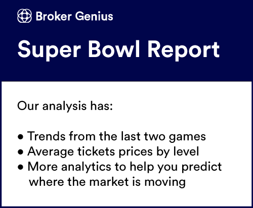 Super Bowl Ticket Data Report